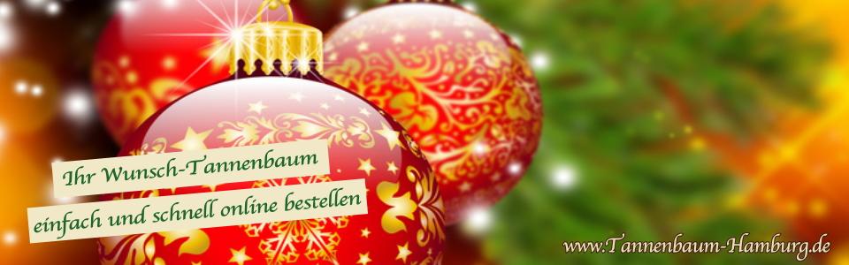Geschmückte Bäume Weihnachtsbaum Hamburg